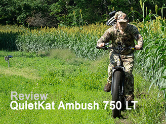 QuietKat Ambush 750 LT: eBike Review
