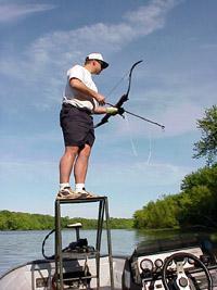 Bowfishing gear 39 99 for Bow fishing platform